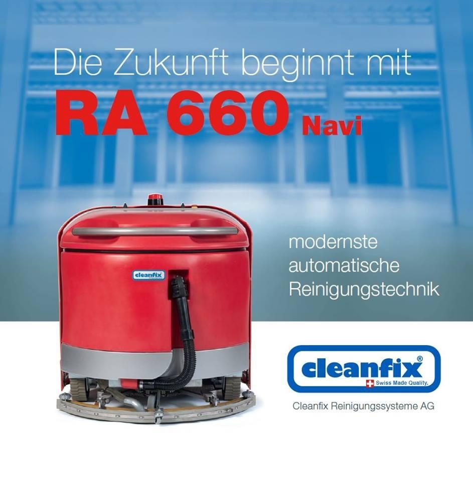 Cleanfix RA 660 Navi с системой GPS навигации