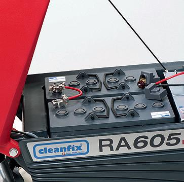 Поломоечная машина Cleanfix RA 605 IBCT